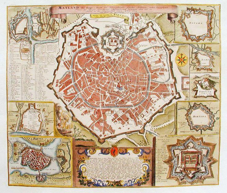 milano art mappa - Cerca con Milano Map