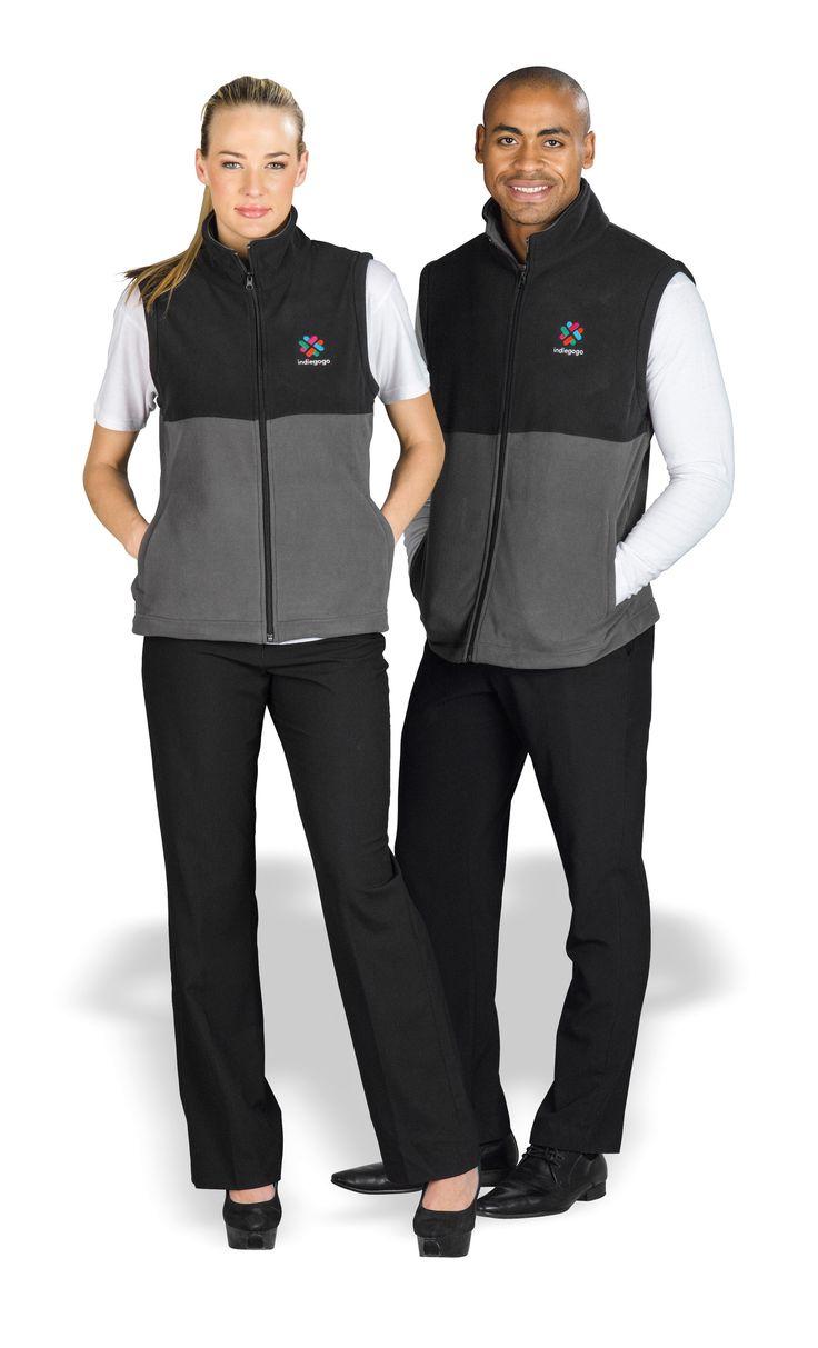 Benneton Zip-Off Fleece Jacket Ladies