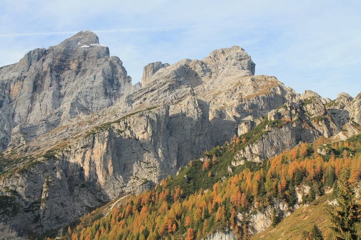 #mountain #landscape #autumn #travel #trekking #dolomites #italy #walking