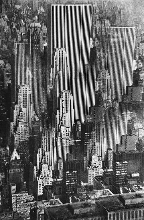 NYC. Dream day view // by René Groebli