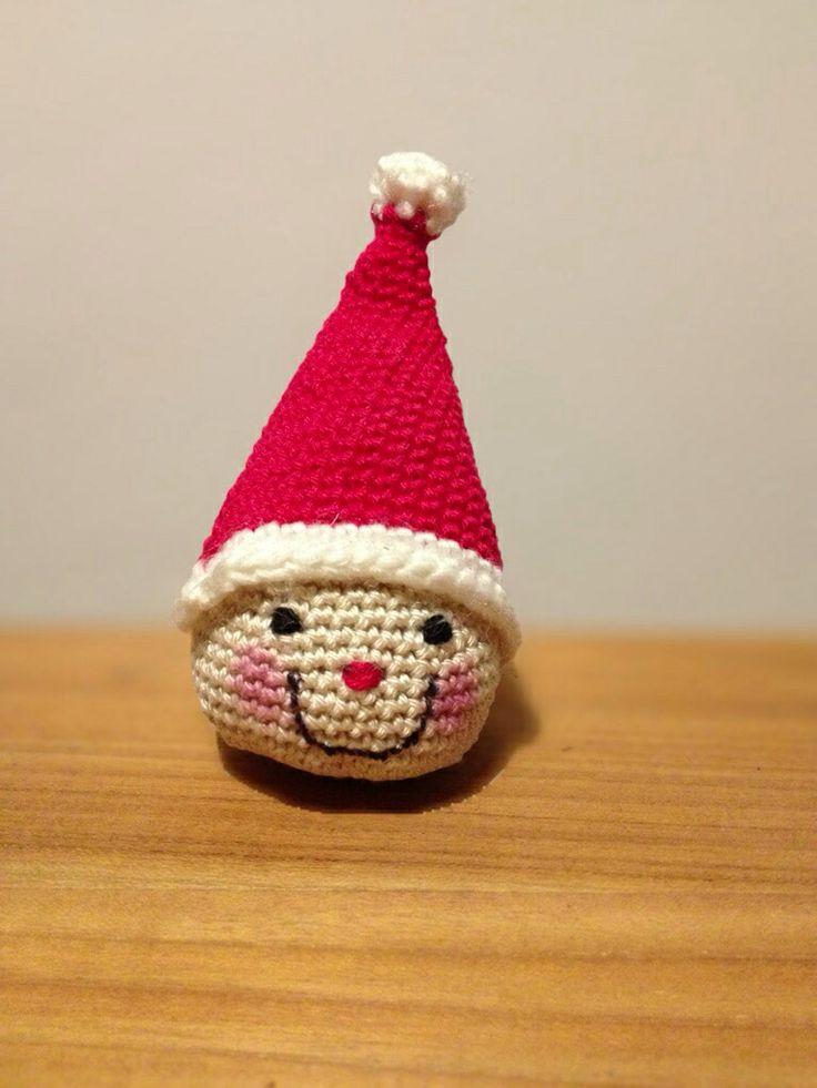 Santa ornament crochet Xmas | Christmas