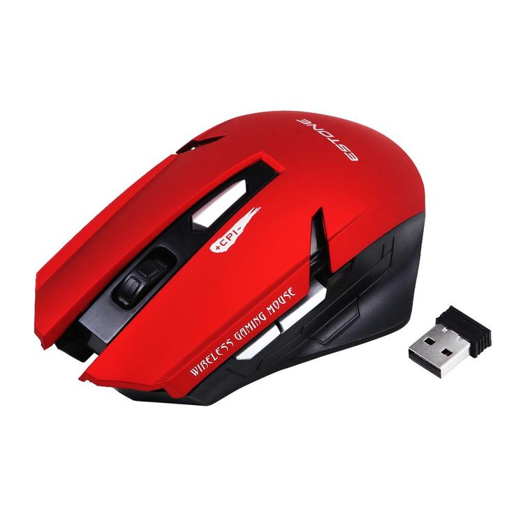 Optical Wireless Mouse Computer Mouse USB 2.4G Receiver 6 Buttons Gaming Mouse Raton Ordenador 10M Working Range #Affiliate