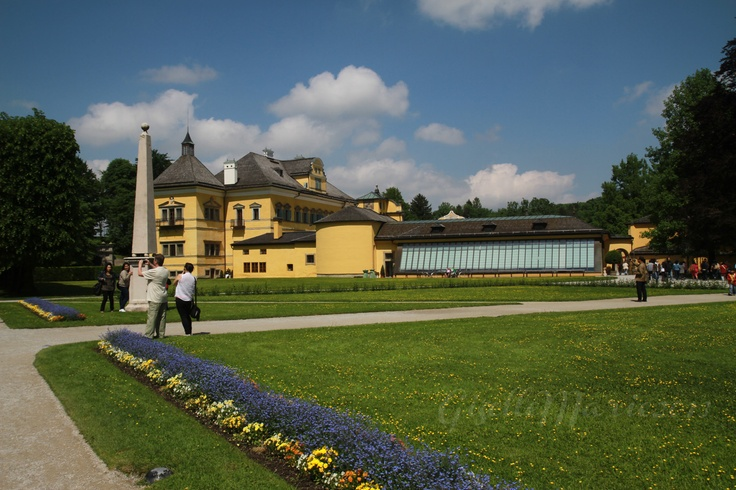 Hellbrunn Palace Gardens, Salzburg, Austria