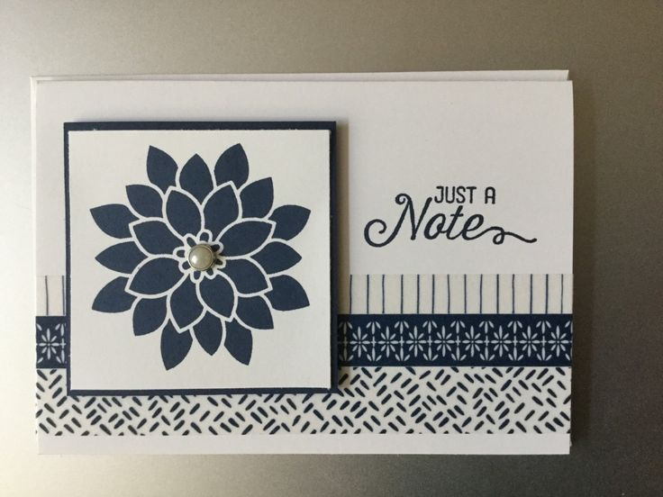 Floral Note by jadoherty - Cards and Paper Crafts at Splitcoaststampers