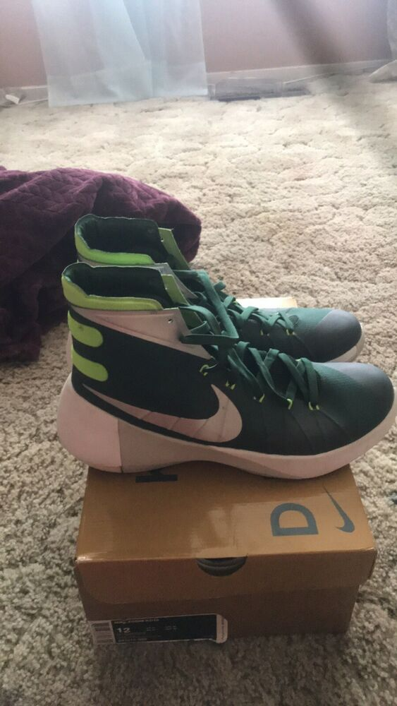 hot sale online c5d9f 23f4f Nike Men s Hyperdunk 2015 TB Basketball Shoes Green Yellow White Size 12   fashion  clothing  shoes  accessories  mensshoes  athleticshoes (ebay link)
