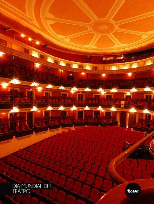 Feliz Día Mundial del Teatro.