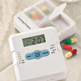 Alarm Pill Box, Medicine Box, Reminder Pill Box, Meds | Solutions for mom and dad  JUST WHAT I NEED!!!!