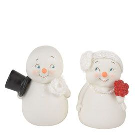 """Department 56: Products - """"Wedding Couple Ornament, Set of 2"""" - View Products"""