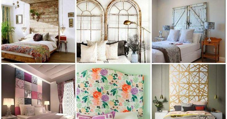 Dale personalidad a tu dormitorio con un cabecero hecho por ti. ¿Quieres ideas? No te pierdas esta recopilación seleccionada para ti.