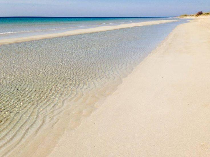 Beach in Salento– Lecce – Puglia - Italy