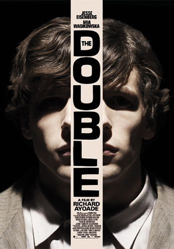 Directed by Richard Ayoade.  With Jesse Eisenberg, Mia Wasikowska, Wallace Shawn, Noah Taylor. A clerk in a government agency finds his unenviable life takes a turn for the horrific with the arrival of a new co-worker who is both his exact physical double and his opposite - confident, charismatic and seductive with women.