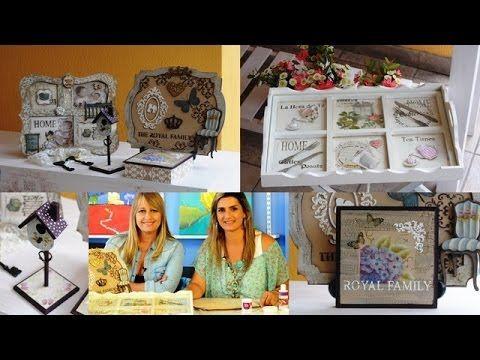 Estilo Vintage - Cuadro Vintage - Pinturas 3D - Craquelados -Martha Cacacio - YouTube