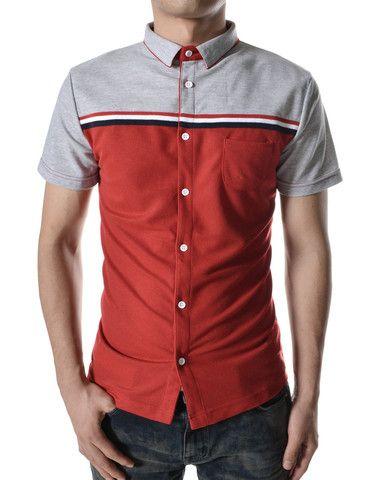 "The ""Bailey"" Short Sleeve Dress Shirt – Tattee Boy Clothes"
