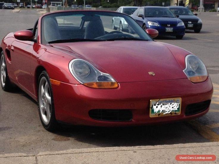 2001 Porsche Boxster #porsche #boxster #forsale #canada