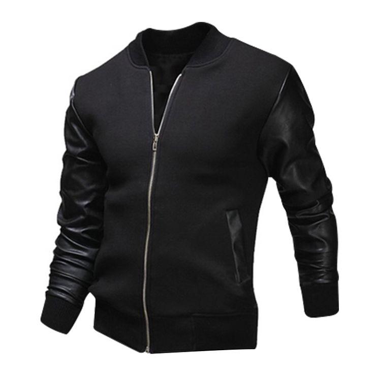 >> Click to Buy << 2017 New Baseball Uniform Jacket Fight Skin Warm Washed Leather Men's Clothing High Quality Casual Men Jacket Coat #Affiliate