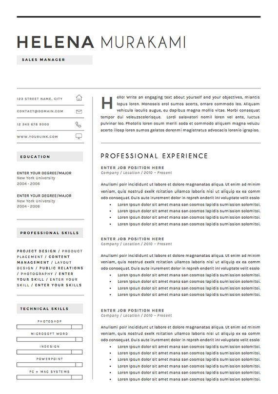 The 29 best Bewerbung images on Pinterest | Resume templates, Cv ...