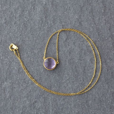 Mist Amethyst Necklace