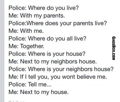 How to troll a police. Laugh of the Day: 14 March 2014.