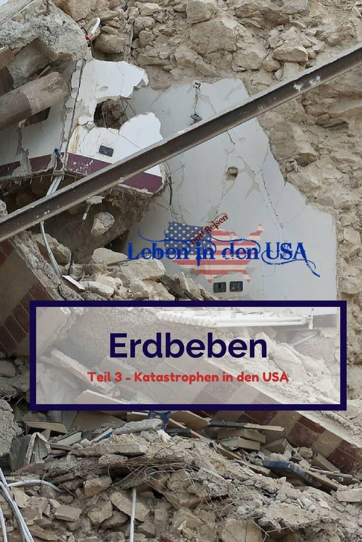 Erdbeben Vorbereitung und Verhalten bei einem ErdbebenIm 3. Teil von Katastrophen in den USA findest du Informationen zu Erdbeben. Wo Erdbeben in den USA (und Deutschland) stattfinden können und wie du dich richtig verhältst, kannst du hier nachlesen.
