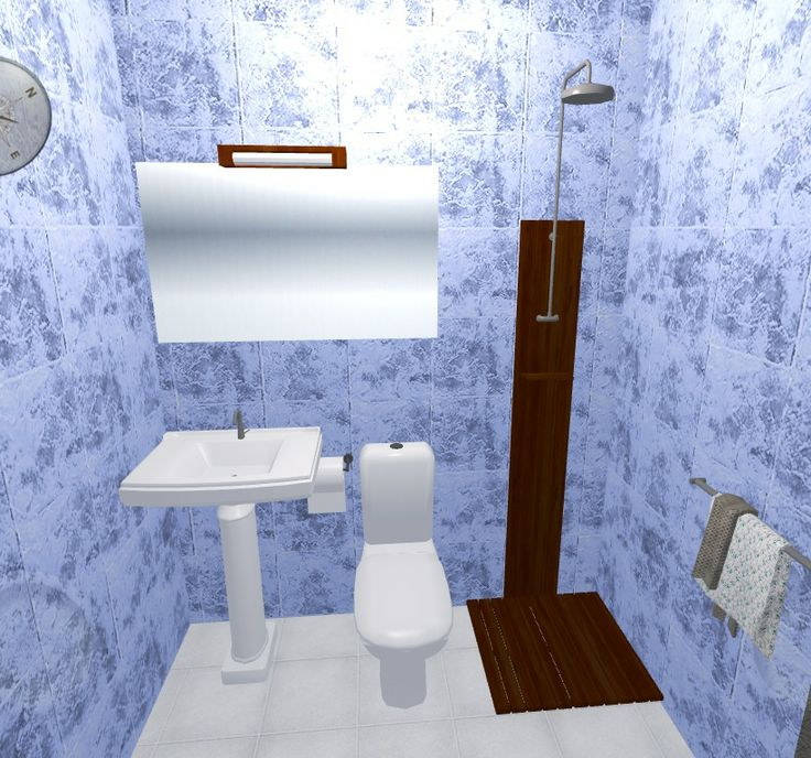 "24"" para una ducha"