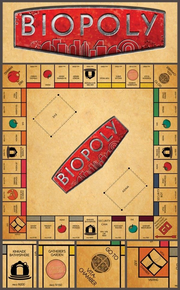 Bioshock Monopoly @Andrew Mager Estep