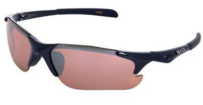 Maxx Storm Ladies and Mens Golf Sunglasses - Black