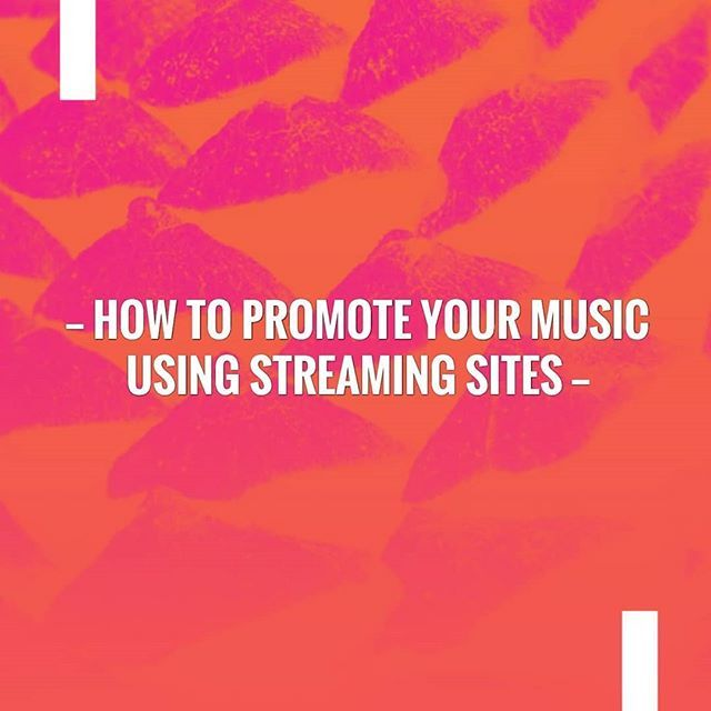 How to Promote your Music using Streaming Sites #musicpromotion #music #freepromotion #streaming #streamingmusic #soundcloud #spotify #itunes #promotemusic