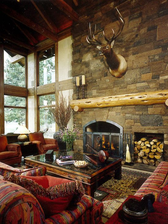 Rustic Living Room Ideas For This Fall: 137 Best Rustic Great Rooms Images On Pinterest