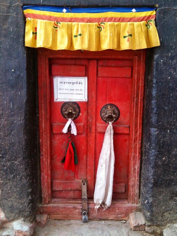 Door At Phyang monastery, Ladakh, India By zsombor nagy