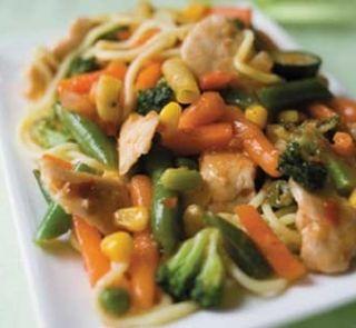 Satay Chicken Stirfry