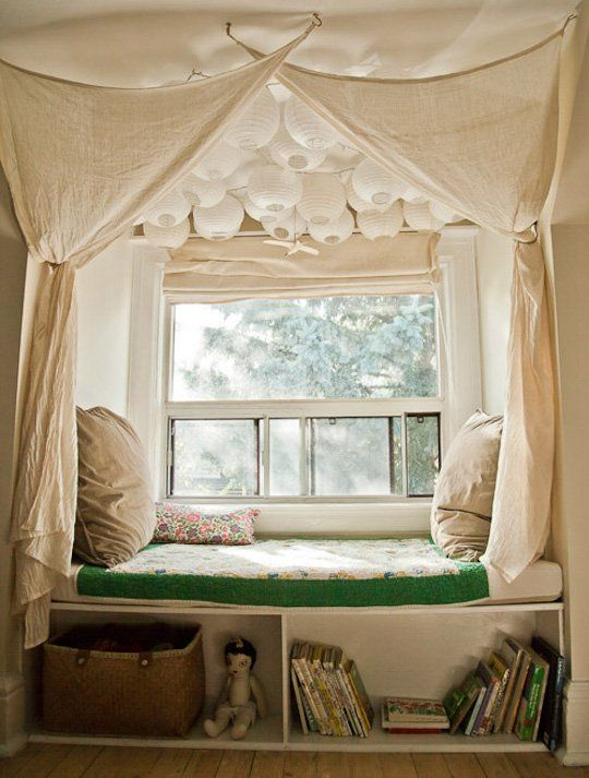 Create Lovely Little Nooks for Reading & Sleeping