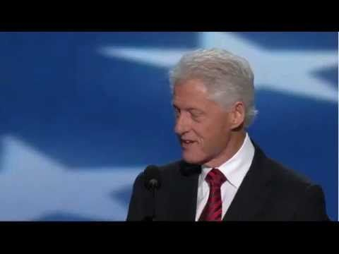 Bill Clinton full DNC Speech 2012 Clarifying the Democratic Party's beliefs, and why this party puts the people first.