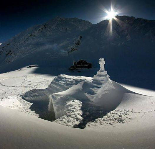balea lac winter
