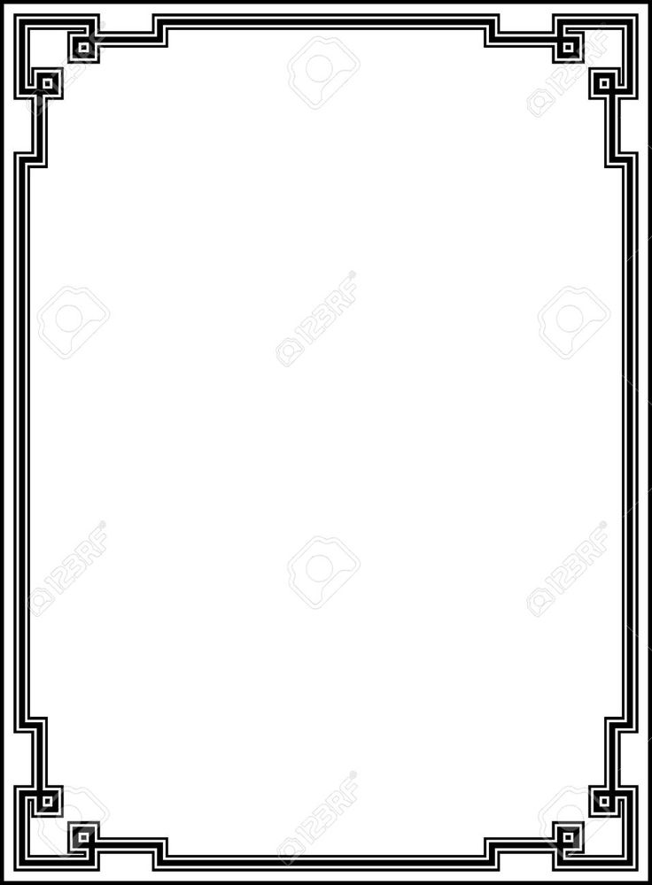 free clipart, art deco corners - Google Search WM stuff - certificate border word