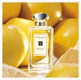 Jo Malone grapefruit -- possibly the most perfect fragrance ever produced. Can't go wrong with any scent Jo Malone makes, though, really.
