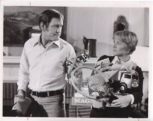 Hope Lange and Earl Holliman, 1973.