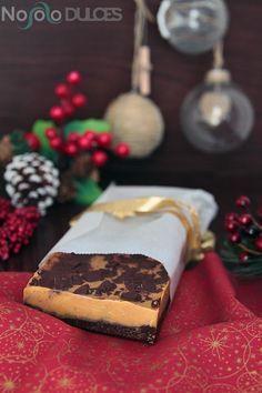 No solo dulces - Receta turron blando de chocolate y dulce de leche para Navidad Christmas