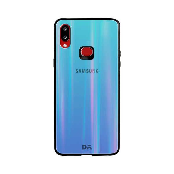 Sky Gradient Holographic Glass Case Cover For Samsung Galaxy A10S