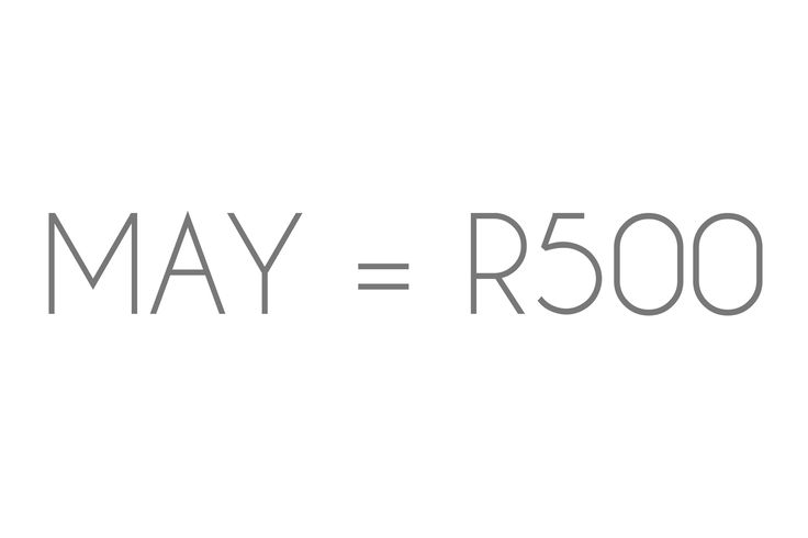 The month of Mothers!  For the month of May i will be doing 30 minute sessions for only R500.  Offer includes 20+ edited images on a dvd.  Shoots on offer: Newborn Toddler Mother and child Portrait Family (4 or less) Couple Maternity  Offer valid until the 31st of May.  💌audracrossland@gmail.com ☎️0769519958
