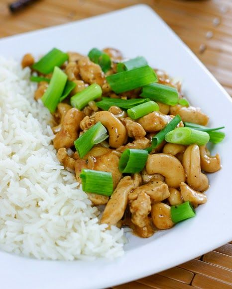 Authentic Asian Recipes: Chicken Cashew Recipe