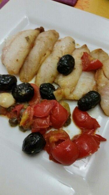 Filetto di #triglieinumido #fish
