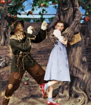 Image result for the trees in wizard of oz tree hugging dorothy