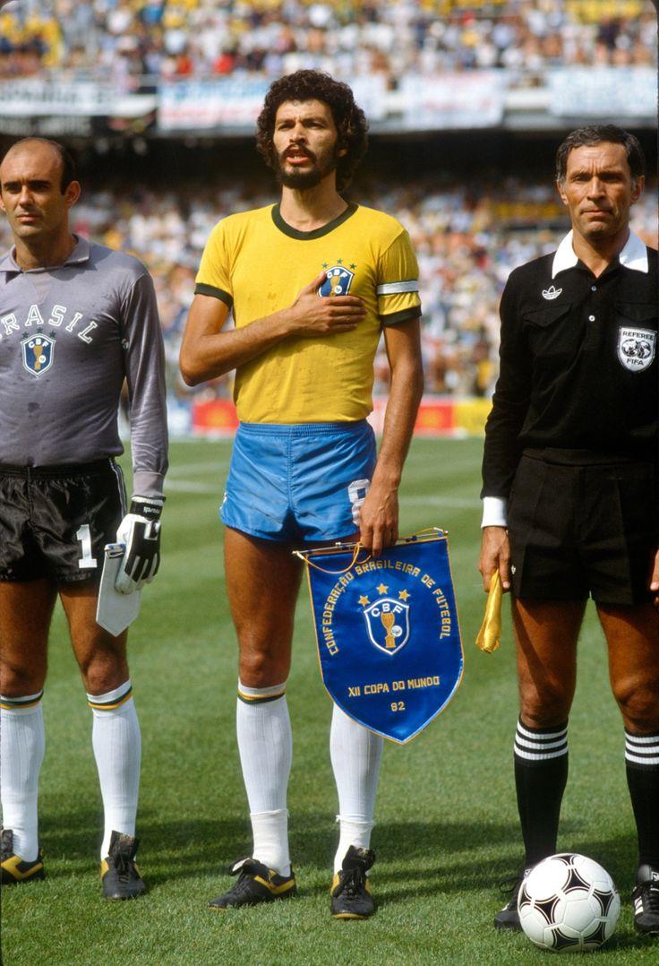 kinda glad the 80's shorts have never returned. Socrates, 1982.
