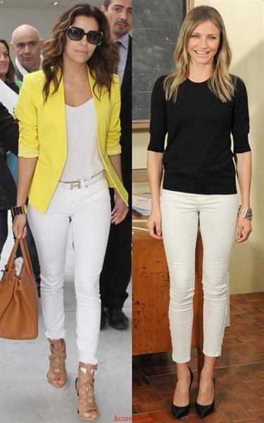 С какими брюками можно одеть светлый пиджак