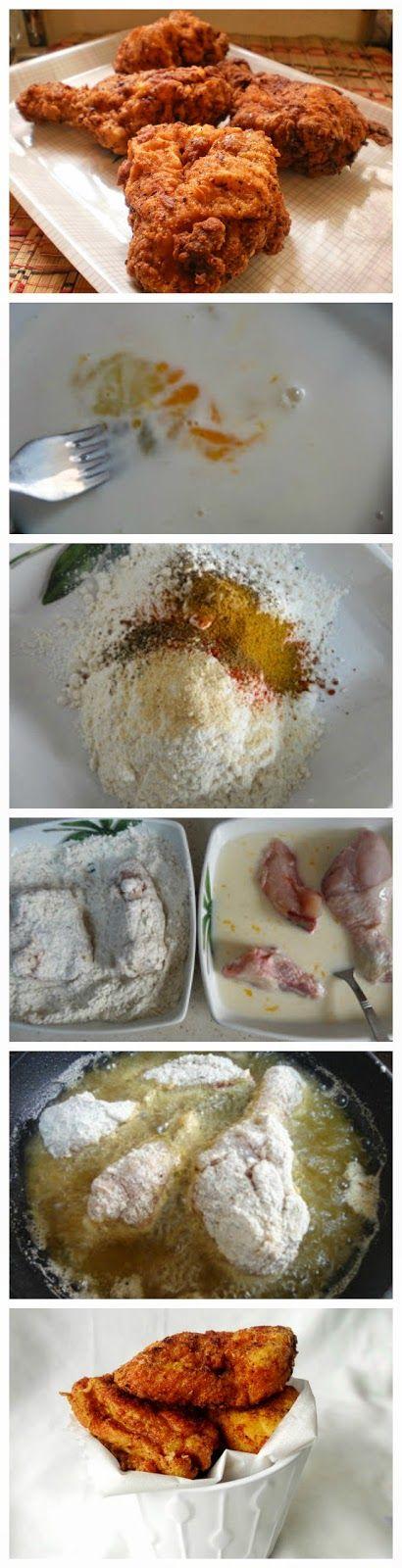Homemade Kentucky Fried Chicken Recipe Style Chicken KFC The Most Desired Recipes