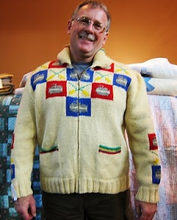 bonspiel days curling sweater by mary maxim