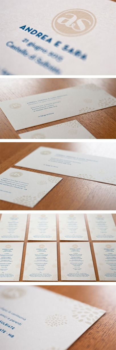 Wedding letterpress invitation | Stamperia del Ghiro