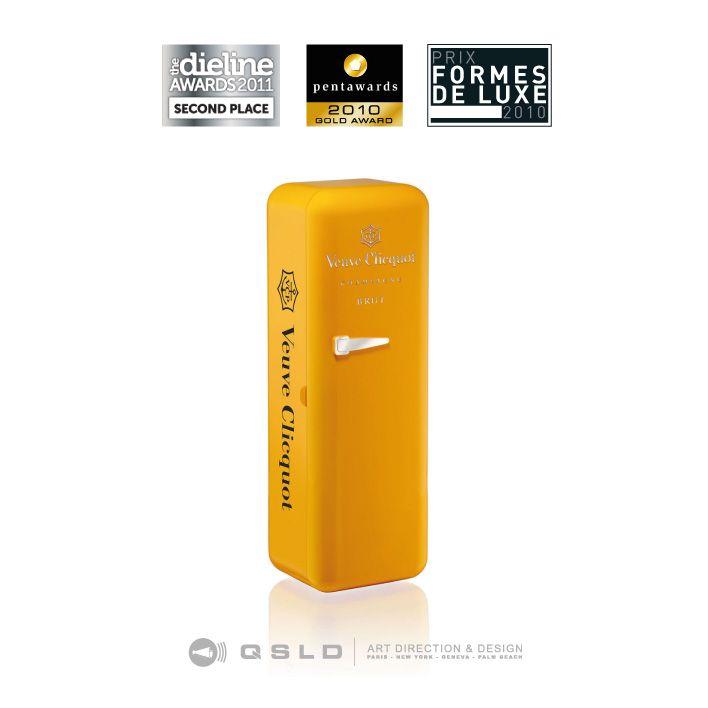 the Dieline AWARDS 2011 - Veuve Clicquot Fridge - Design by QSLD