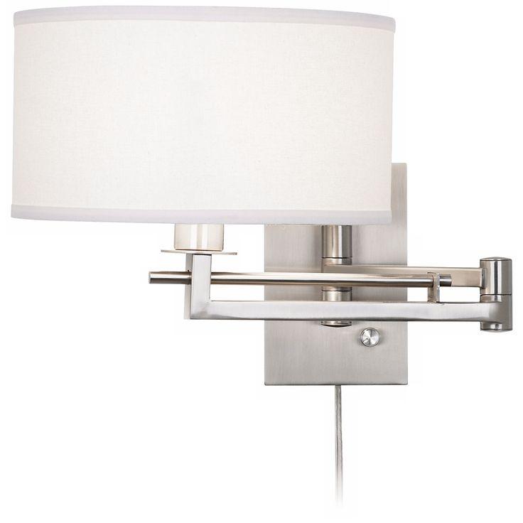Possini Euro Aluno Plug-In Style Swing Arm Wall Light - Style # M9450