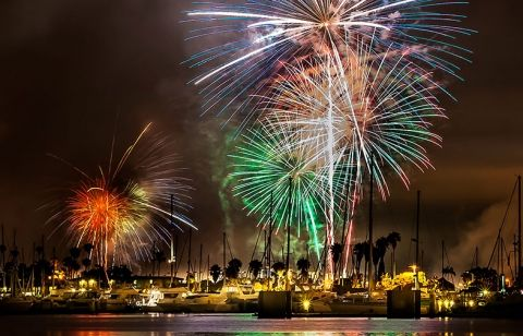 Here's where to watch the fireworks on July 4th. #SDSummerGuide